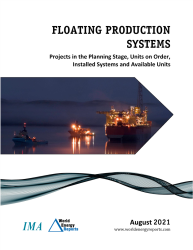 August 2021 Monthly Floating Production Systems Report