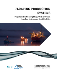 September 2021 Monthly Floating Production Systems Report