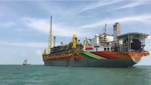 Liza Destiny FPSO started producing oil offshore Guyana in December 2020. Image source Hess Corporation.jpg