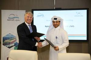 NAKILAT MD AND HOEGH LNG CEO.JPG