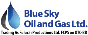 Blue Sky Oil and Gas Ltd. Logo